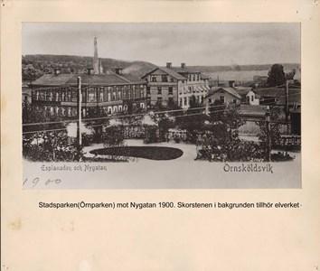 008.27 Stadens fotografier 2 - Stadsparken 1900