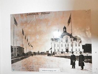 Öd 3 Foto Invigning Rådhus 1909