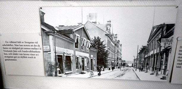 Öd 39 Foto Storgatan vid sekelskiftet