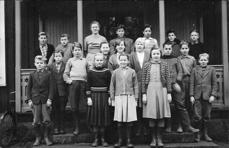 Skolkort 1957, Hånger