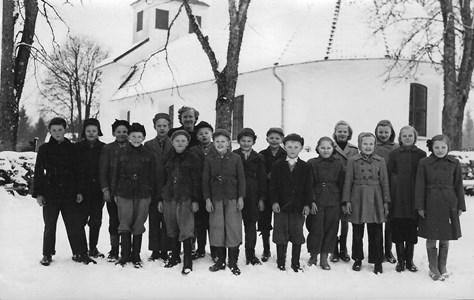 Skolkort 1952