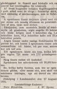 Gavlö Säteri auktion del2