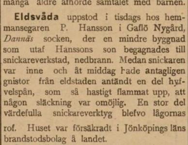 Nygård Brand 1901-02-23