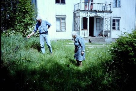 Åke Jansson och Karin Vestblad, Gräsholmen