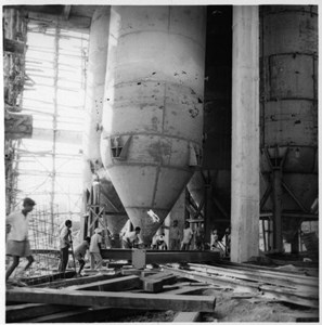 Degerfors Järnverks montageplats i Kerala Indien.