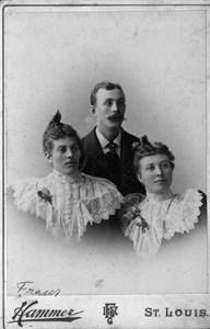Syskonen Johanna Andersdotter, Frans Andersson och Sofia Andersdotter