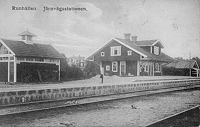 Runhällens station.