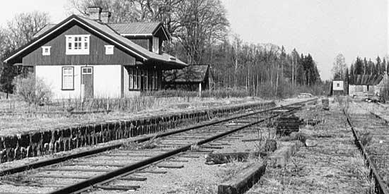 Runhällens station