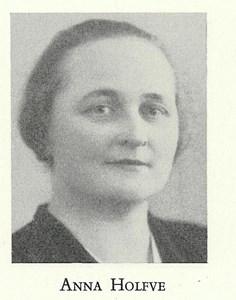 Barnmorskan Anna Holfve