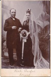Komminister Dahlgrens bröllopsfoto