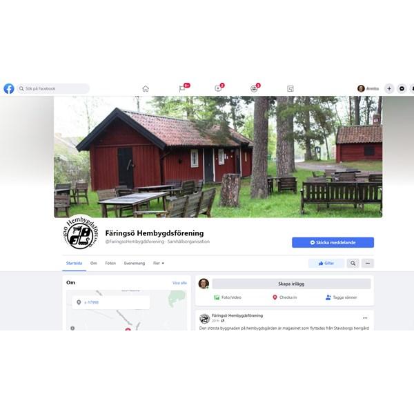 Färingsö hembygdsförening på Facebook