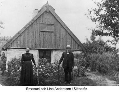 Emanuel och Lina på Slättarås