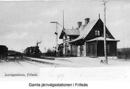 Frillesås gamla järnvägsstation