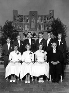 Ohs Bruks kyrka den 23 juli 1955
