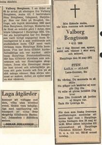 Valborg Bengtsson