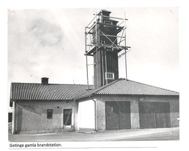 Getinge Brandkår, Getinge gamla brandstation 15-1464