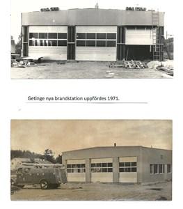 Getinge Brandkår, Nya brandstationen  15-1465