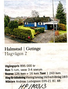 170313 Till salu Hagvägen 2