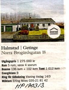 170313 Till salu Norra Brogårdsgatan 18