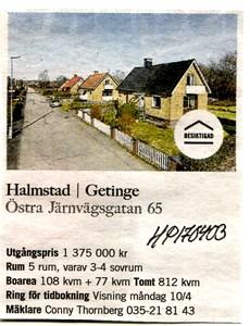 170403 Till salu Östra Järnvägsgatan 65