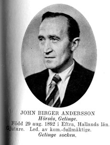 John BIRGER Andersson