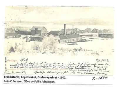 Hallands Frökontor med Tegelbruket. 2-1634