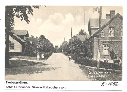 Ekebergsvägen. 2-1652