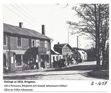 Getinge ca 1932, Brogatan  2-1657