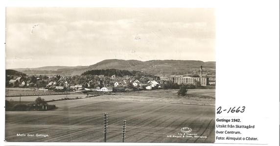 Utsikt från Skattagård  2-1663