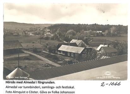 Hörsås med Almedal i förgrunden 2-1666