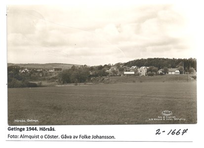 Getinge 1944 Hörsås  2-1667