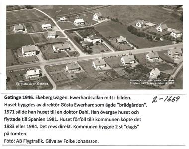 Getinge 1946 2-1669