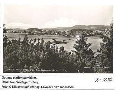 Utsikt från Skattagårds Berg 2-1672