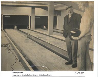 Bowlinghallen. 3-1734