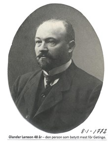 Olander Larsson. 8-1-1772