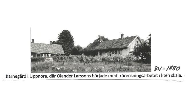 Karnegård i Uppnora. 8-1-1780