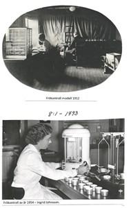 Frökontorets frökontroller, modell 1912 och 1954. 8-1-1793