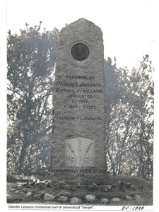 Olander Larssons minnessten 8-1-1797