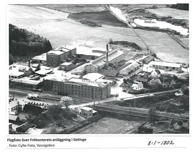 Hallands Frökontors anläggning i Getinge.8-1-1802