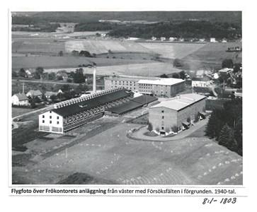 Hallands Frökontors anläggning i Getinge.8-1-1803