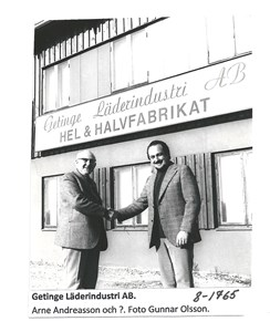 Getinge Läderinstri AB. 8-1765
