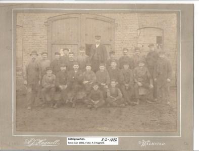 Getingeverken 1906. 8-2-1892