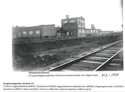 Getingeverkens Gjuteri 1947. 8-2-1933