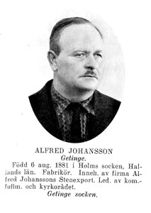 ALFRED Johansson