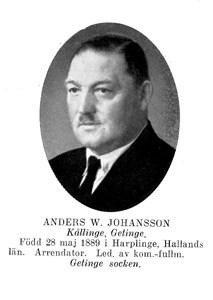 Anders W Johansson