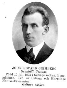 JOHN Edvard Grimberg
