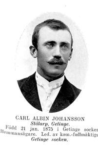 Carl Albin Johansson