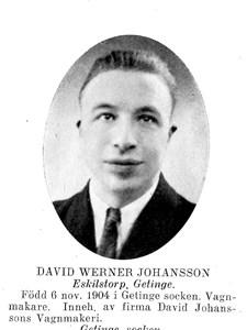 DAVID Verner Johansson