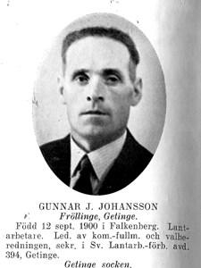 GUNNAR Julius Johansson