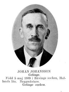 JOHAN Paridon Johansson